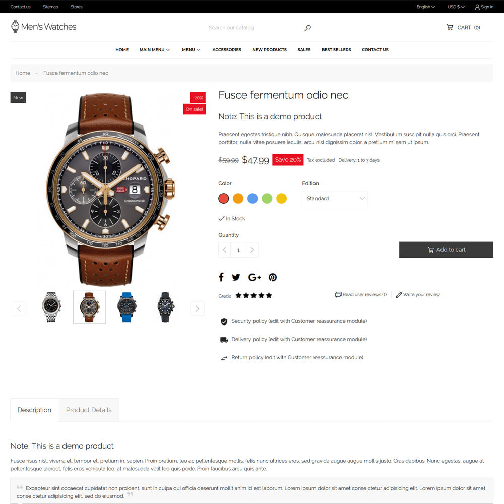 theme - Jewelry & Accessories - Men's Watches - 7