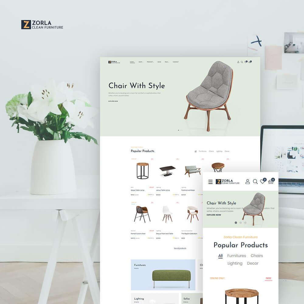 theme - Home & Garden - Zorla - Furniture & Home Decor - 1