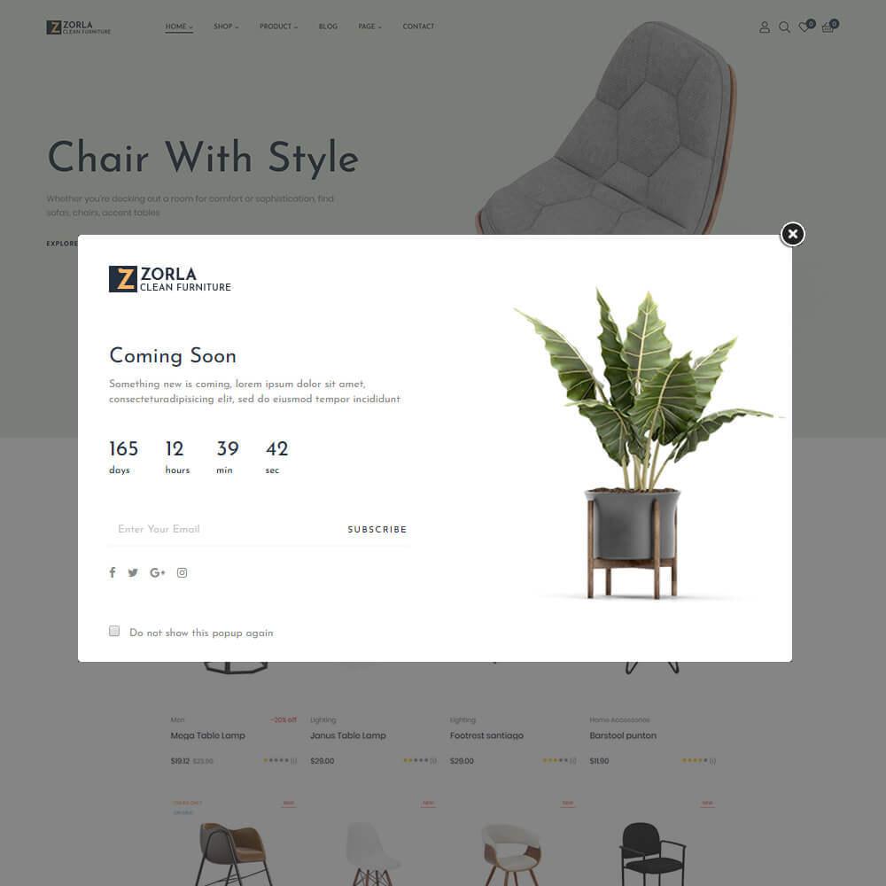 theme - Home & Garden - Zorla - Furniture & Home Decor - 5