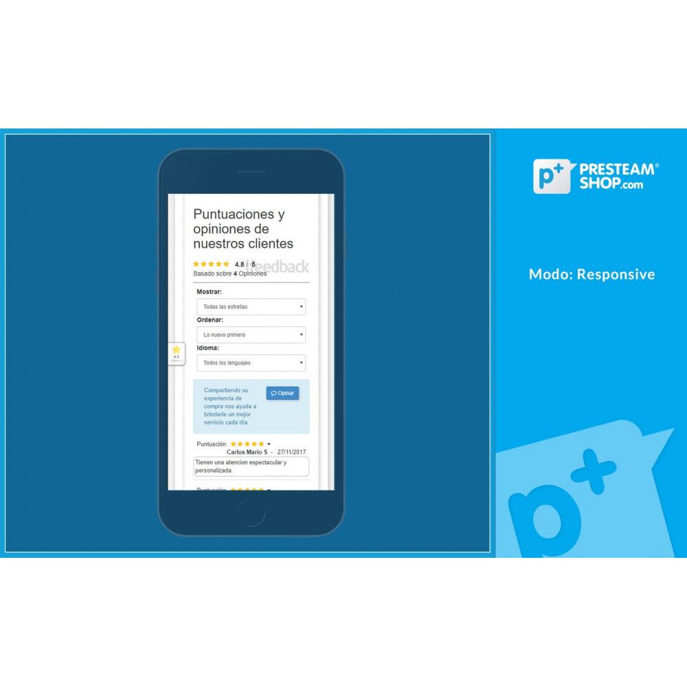 module - Comentarios de clientes - iFeedback - Valoraciónes avanzadas - 13