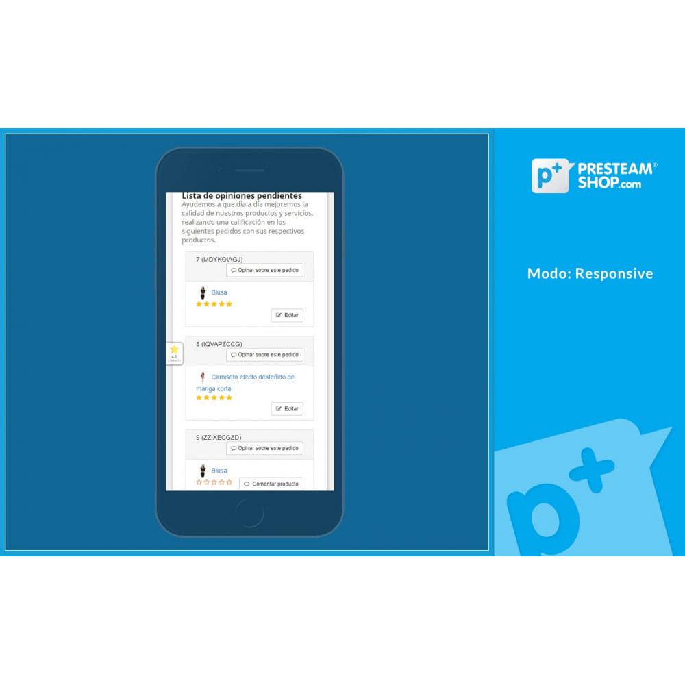 module - Comentarios de clientes - iFeedback - Valoraciónes avanzadas - 15