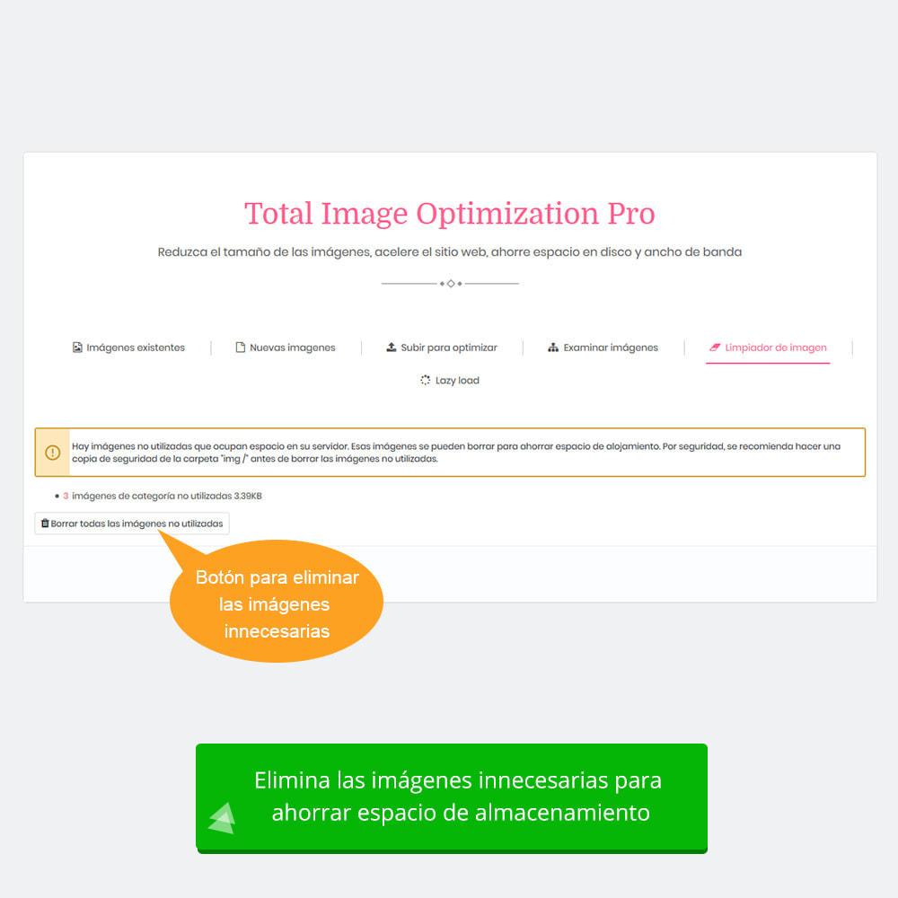 module - Rendimiento del sitio web - Total Image Optimization Pro - Compresión sin pérdida - 9