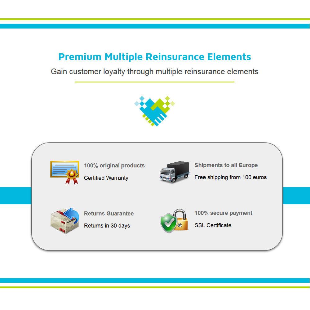 module - Personalización de la página - Múltiple Elementos de Confianza Animados Lottie JSON - 2