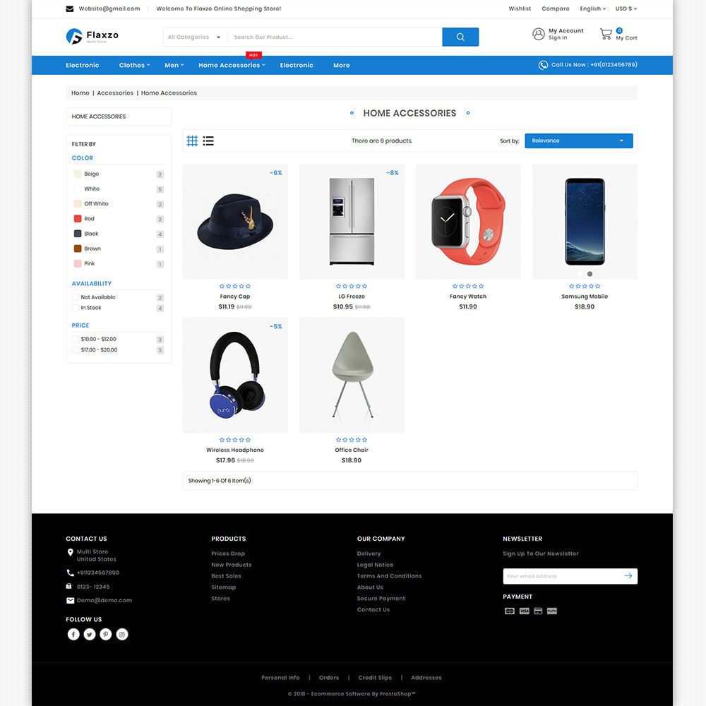 theme - Electronics & Computers - Flaxzo - The Best Multi Purpose Store - 6