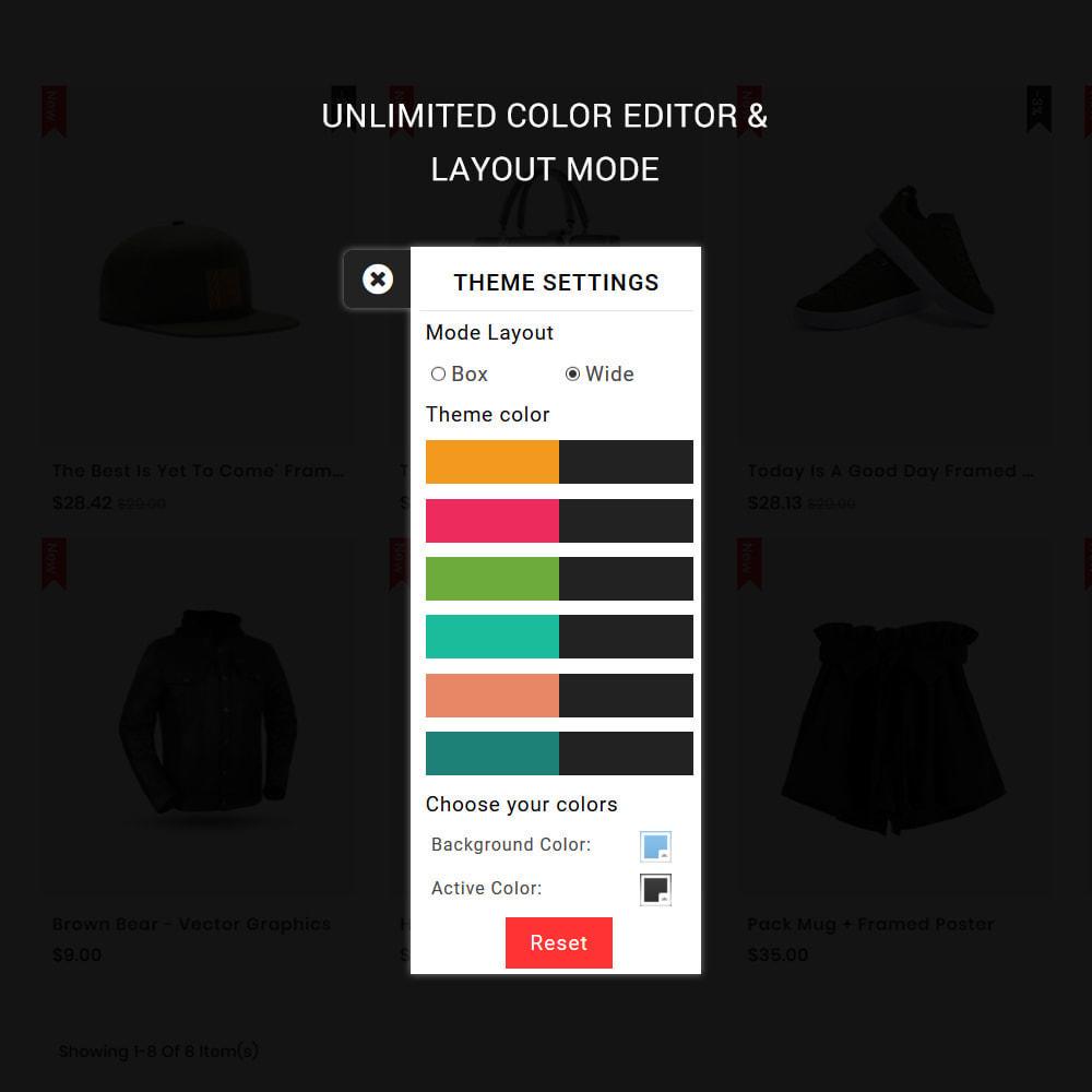 theme - Мода и обувь - Glamora - The Best Fashion Store - 2