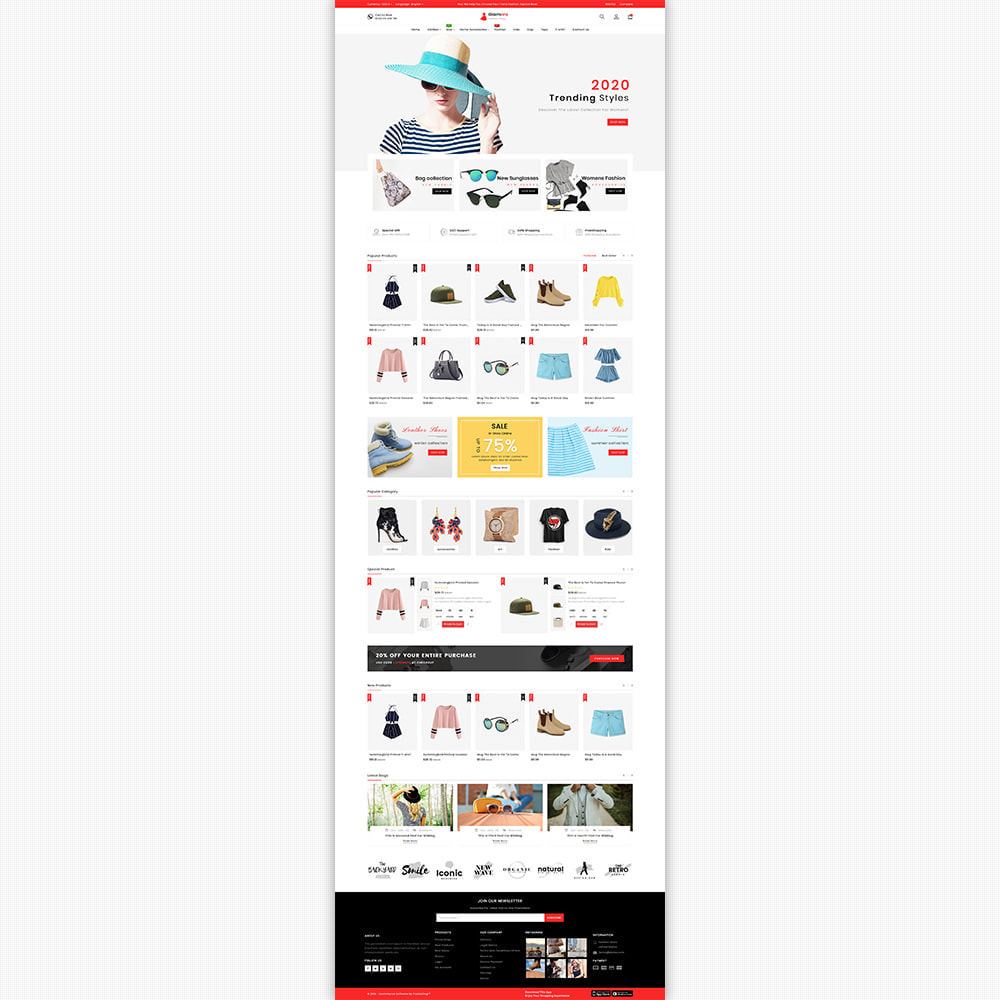 theme - Мода и обувь - Glamora - The Best Fashion Store - 6