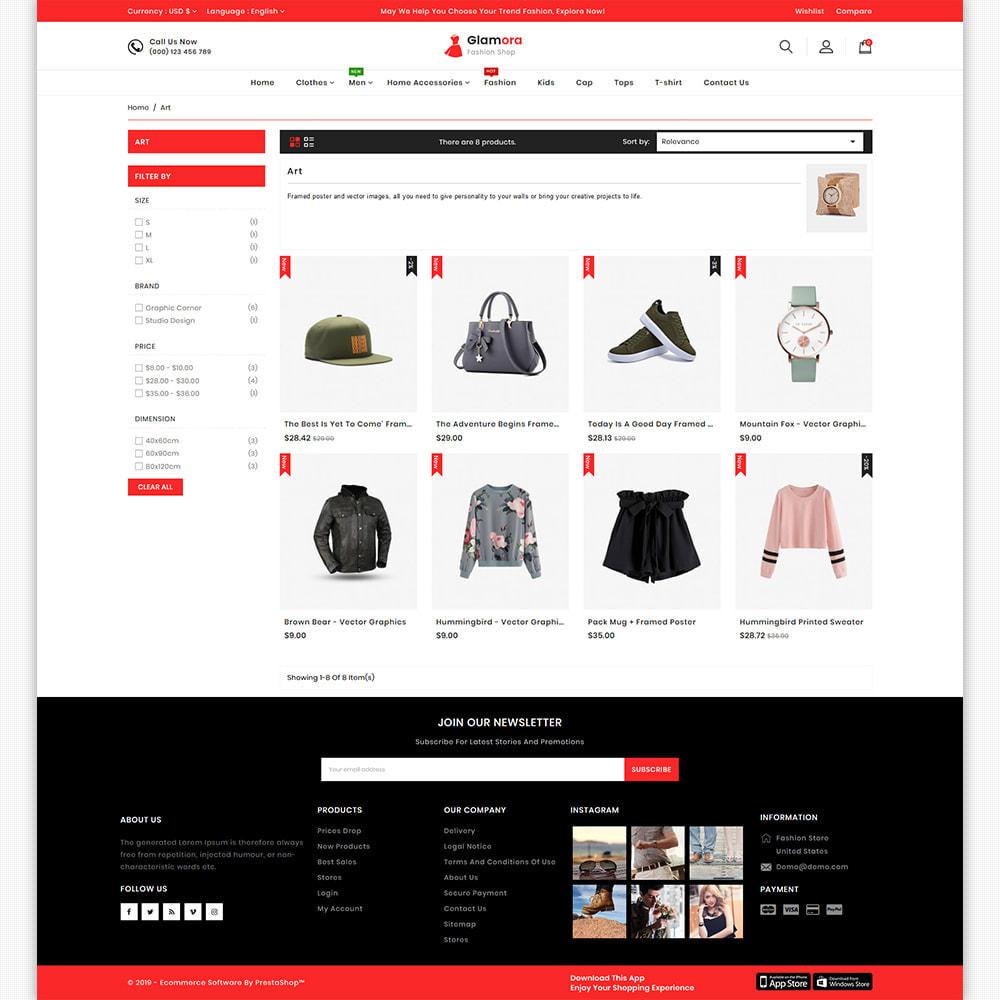 theme - Мода и обувь - Glamora - The Best Fashion Store - 7