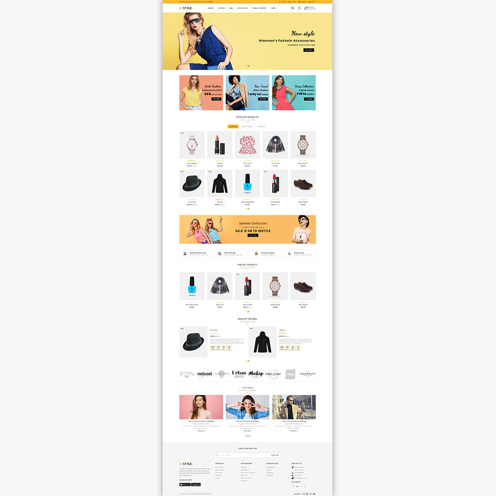 theme - Fashion & Shoes - InStyle - The Best Fashion Store - 5