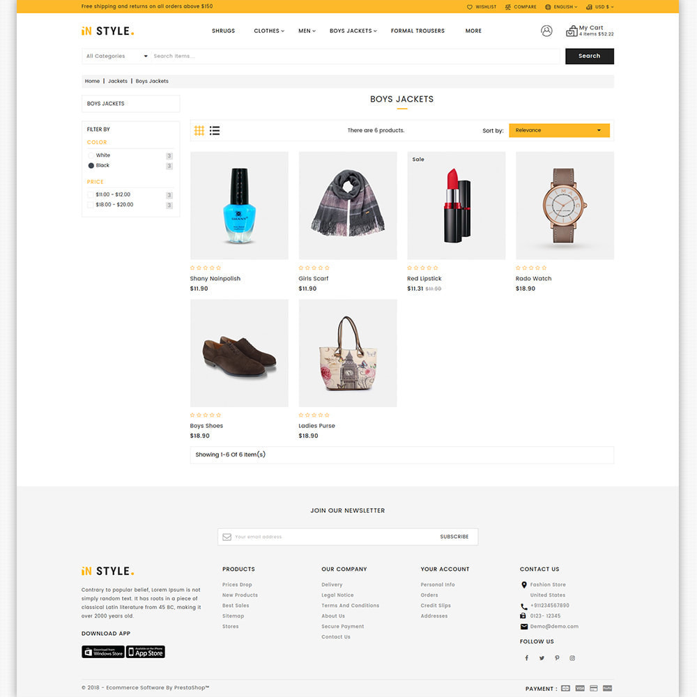 theme - Fashion & Shoes - InStyle - The Best Fashion Store - 6