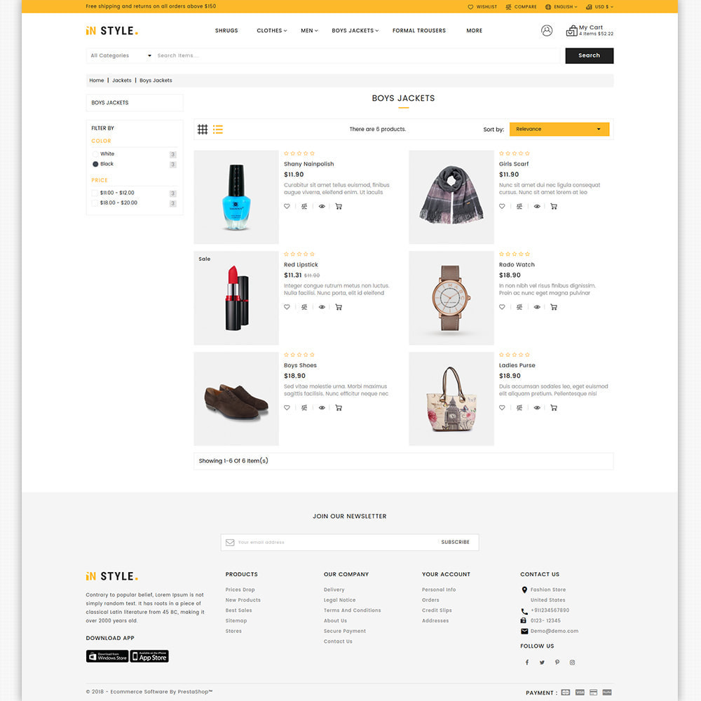 theme - Fashion & Shoes - InStyle - The Best Fashion Store - 7