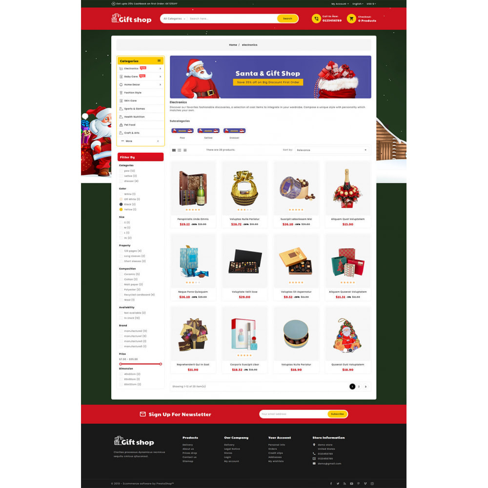 theme - Gifts, Flowers & Celebrations - Gift & Articles Shop - 3