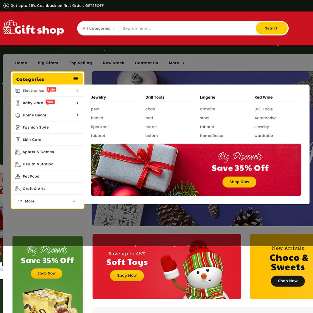 theme - Cadeaus, Bloemen & Gelegenheden - Gift & Articles Shop - 9