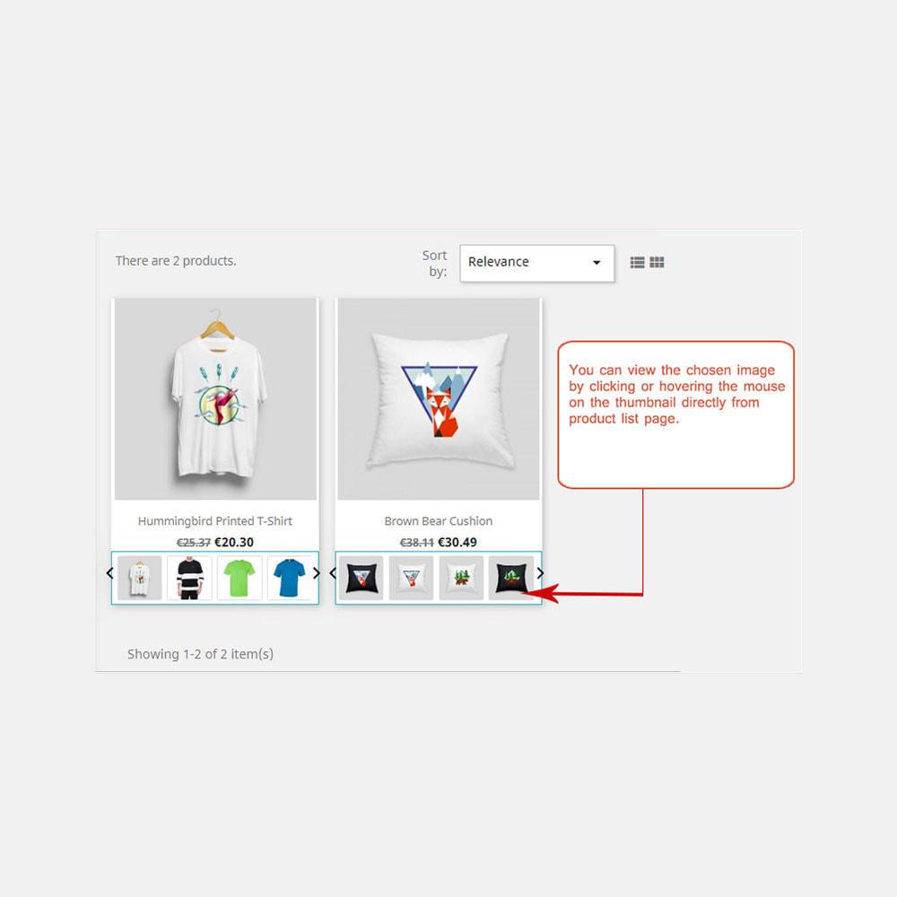 module - Visuels des produits - Afficher les images produit dans la liste des produits - 1