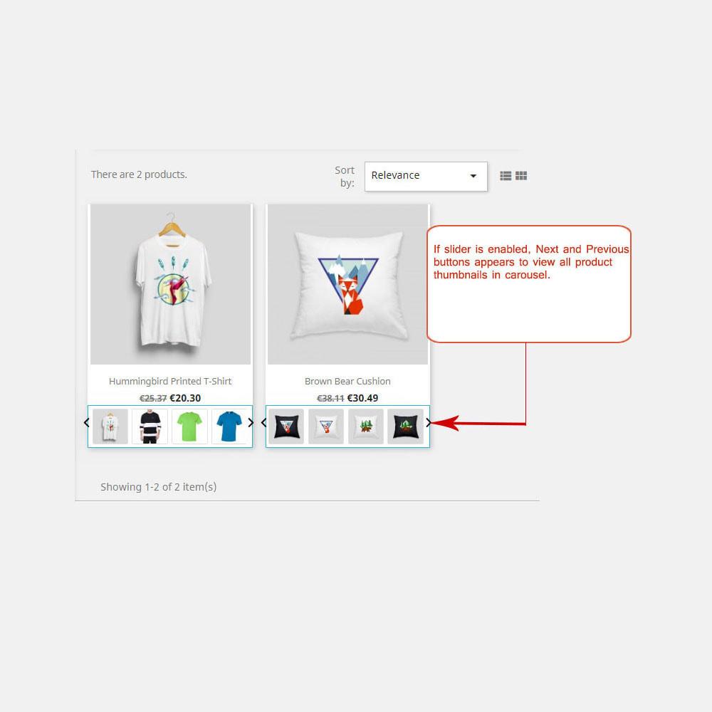 module - Visuels des produits - Afficher les images produit dans la liste des produits - 2