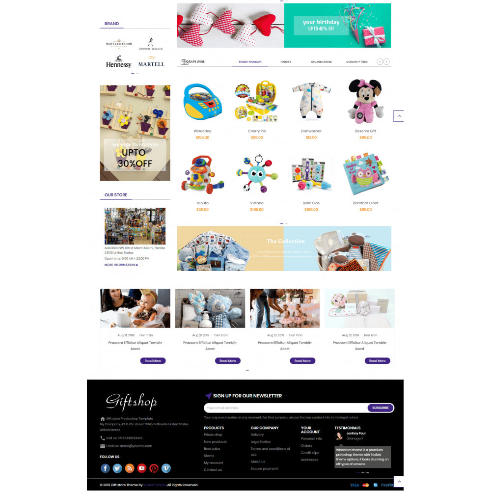 theme - Regalos, Flores y Celebraciones - Gifts and Toys Store - 3
