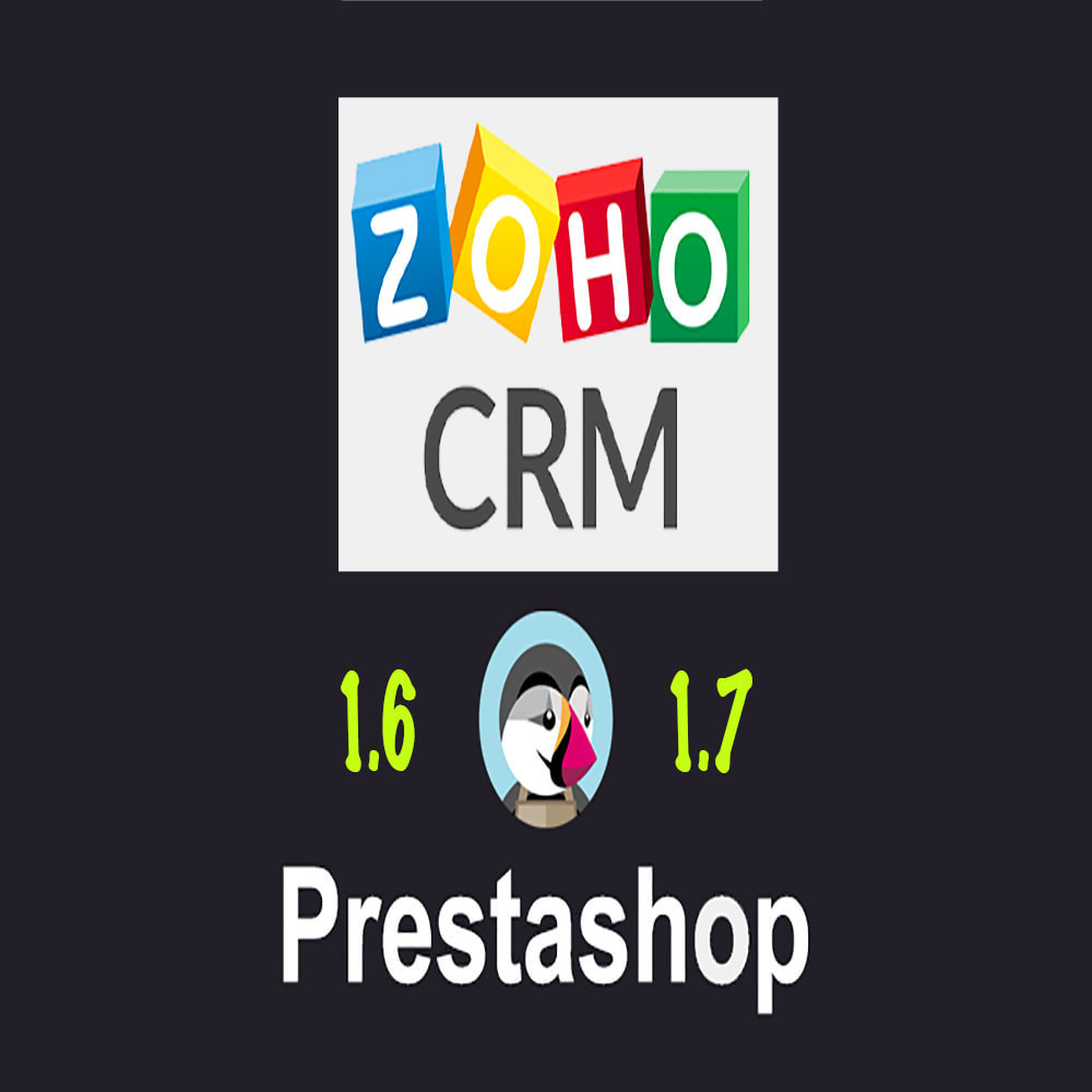 module - Third-party Data Integration (CRM, ERP...) - Zoho CRM - 1