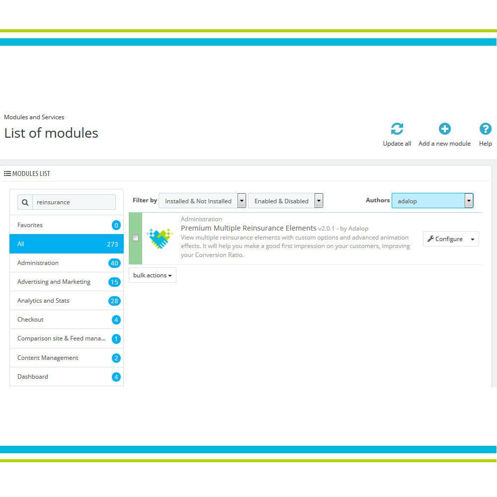 module - Individuelle Seitengestaltung - Premium Multiple Elemente des Vertrauens - 3