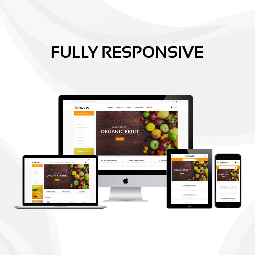 theme - Food & Restaurant - Fruveg - The Grocery Store - 2