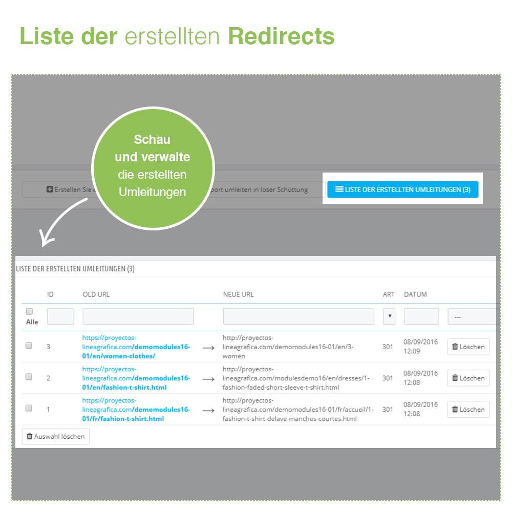 module - URL & Redirects - 301, 302 und 303 URL Weiterleitungen und 404 - SEO - 4