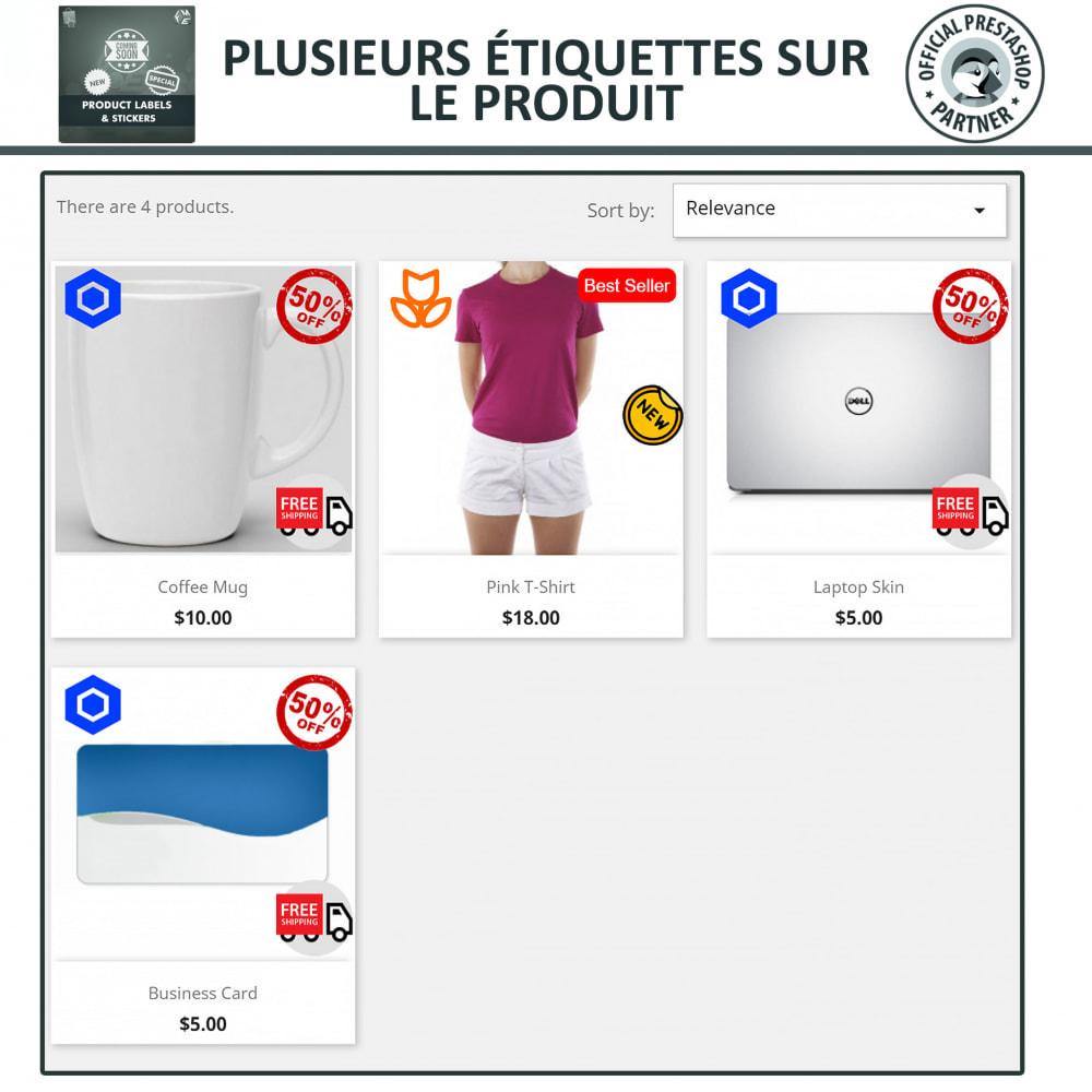 module - Etiquettes & Logos - Étiquettes de Produits et Autocollants - 3