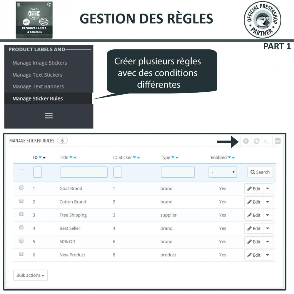 module - Etiquettes & Logos - Étiquettes de Produits et Autocollants - 12
