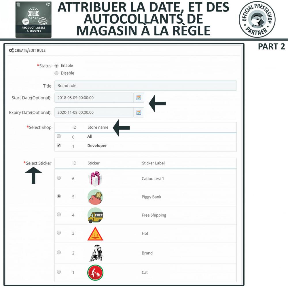 module - Etiquettes & Logos - Étiquettes de Produits et Autocollants - 13