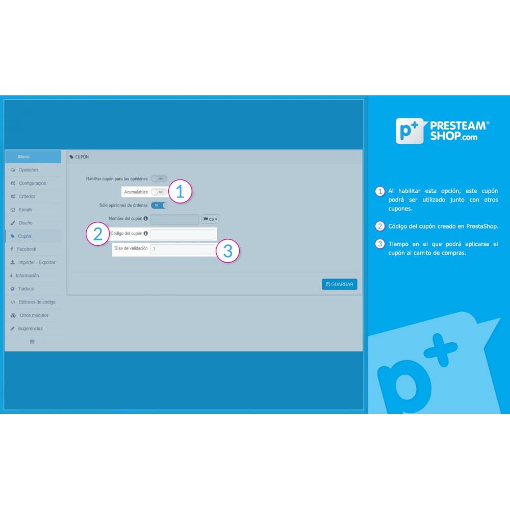 module - Comentarios de clientes - iFeedback - Valoraciónes avanzadas - 27