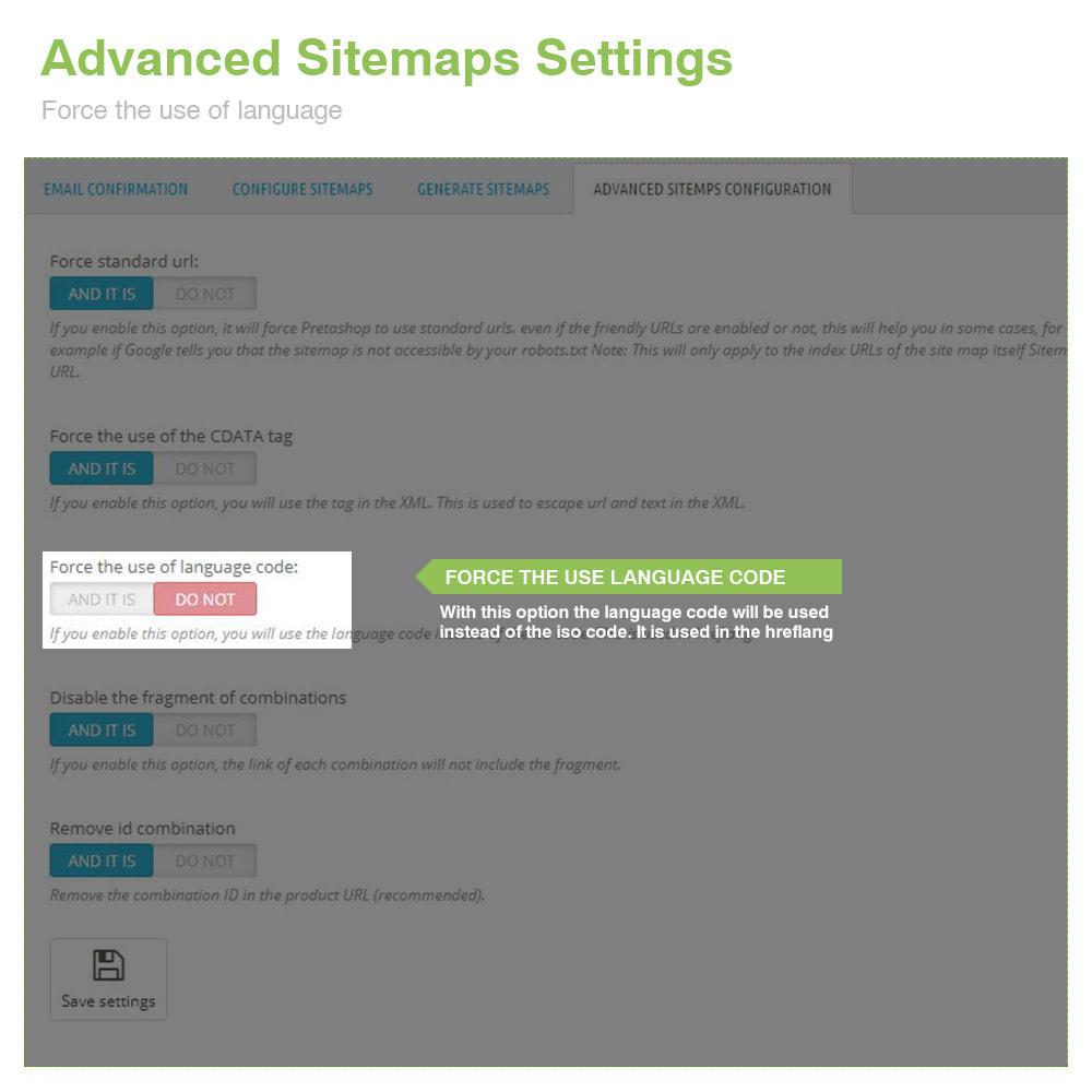module - Естественная поисковая оптимизация - Multilingual and Multistore Sitemap Pro – SEO - 11