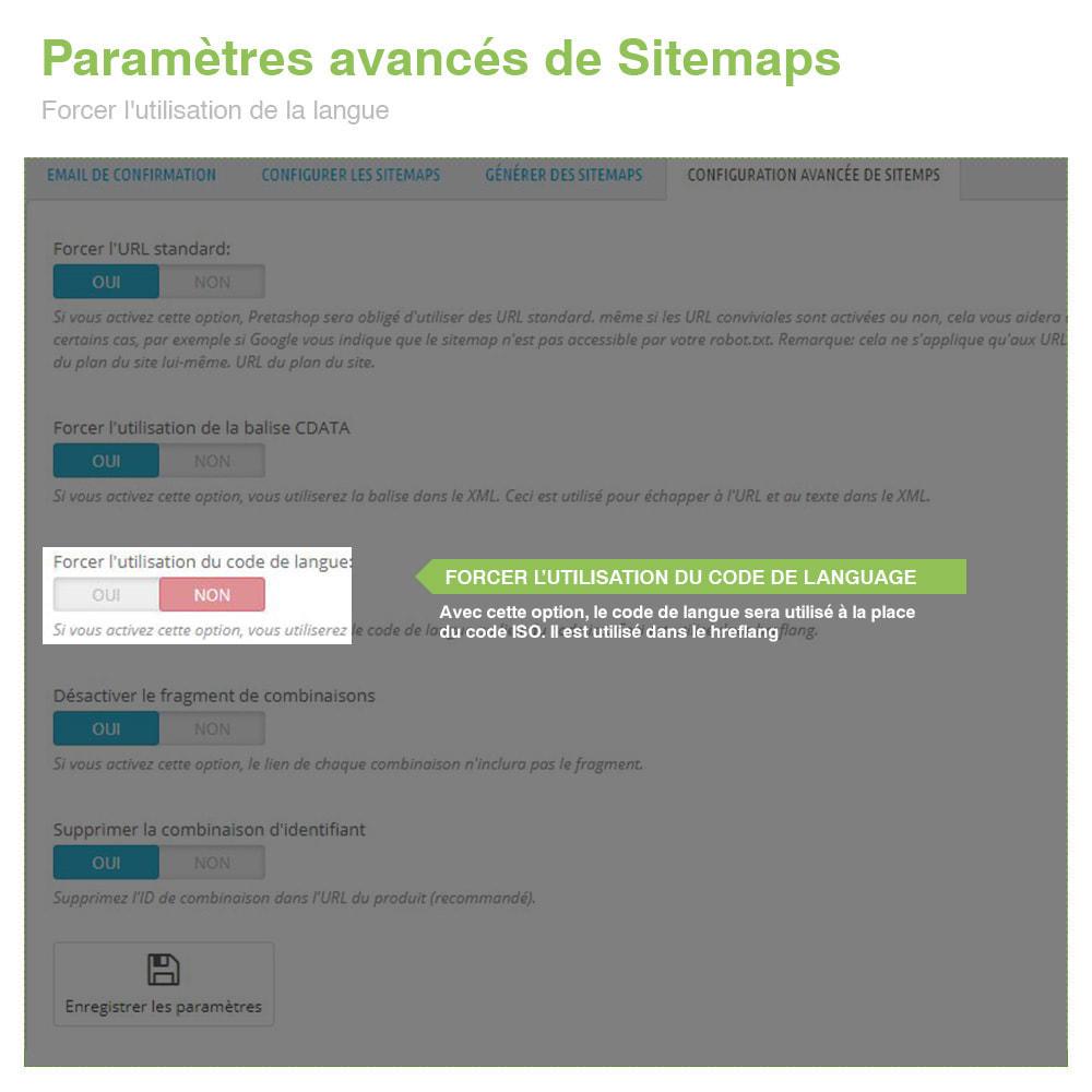 module - SEO (référencement naturel) - Sitemaps Pro Multilingues et Multi-Boutiques - SEO - 11