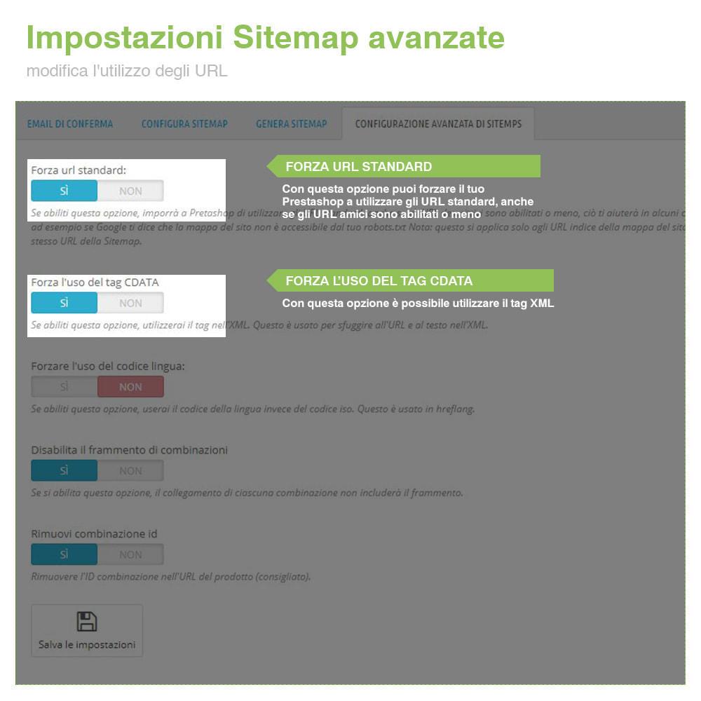 module - SEO (Indicizzazione naturale) - Sitemaps Pro Multi-Lingue e Multi-Negozio - SEO - 10