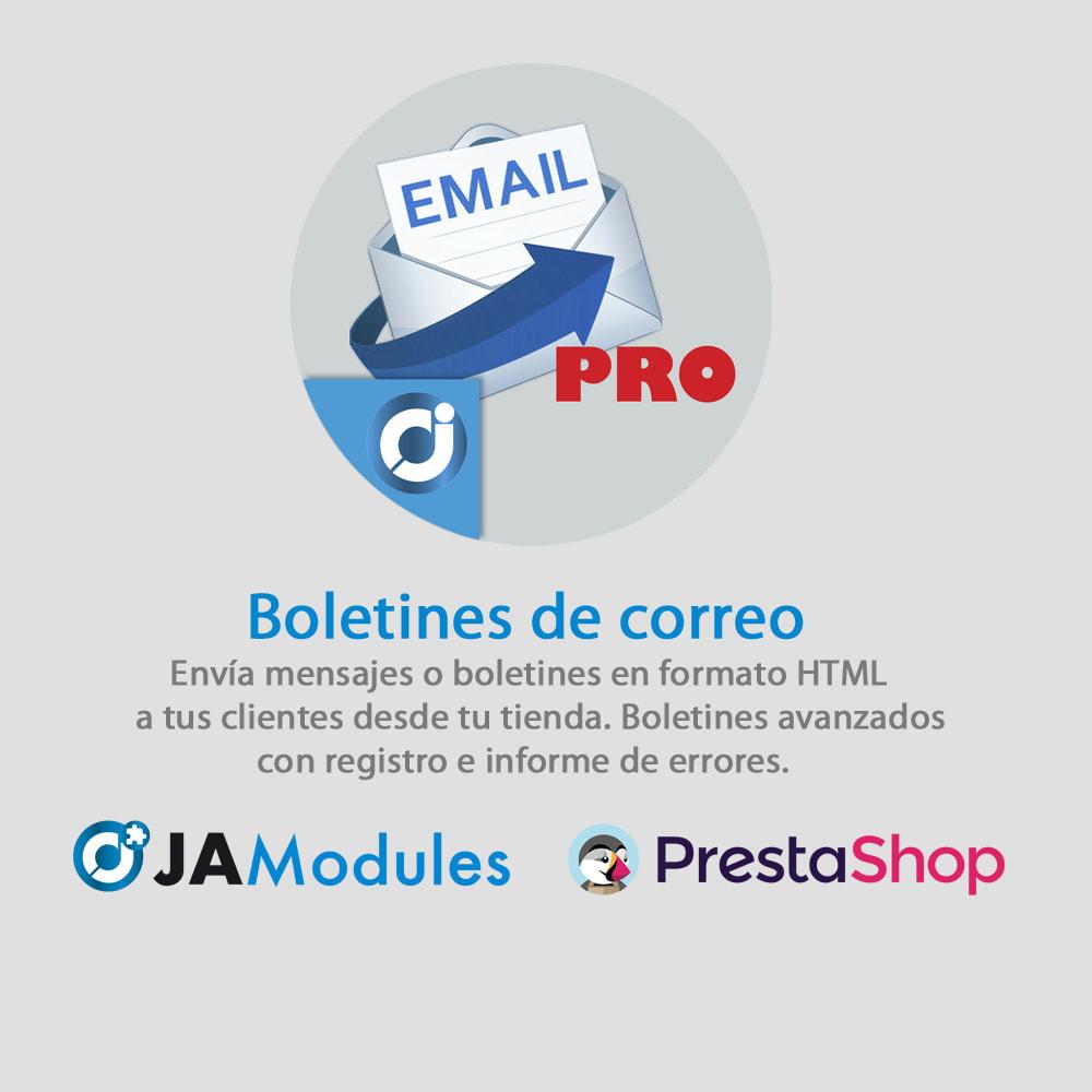 module - Newsletter y SMS - Boletín de correo PRO - 1