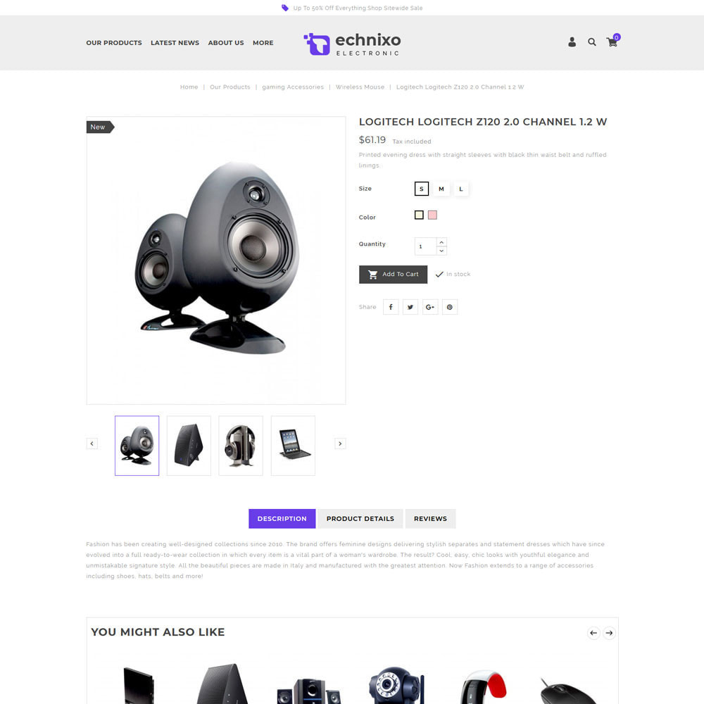 theme - Eletrônicos & High Tech - Technixo - The Electronic Store - 6