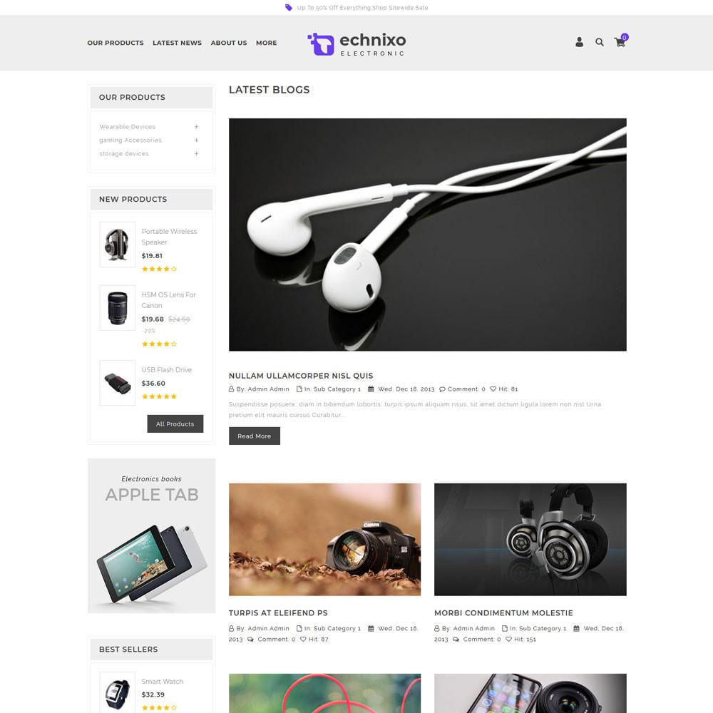 theme - Electronique & High Tech - Technixo - Le magasin électronique - 8