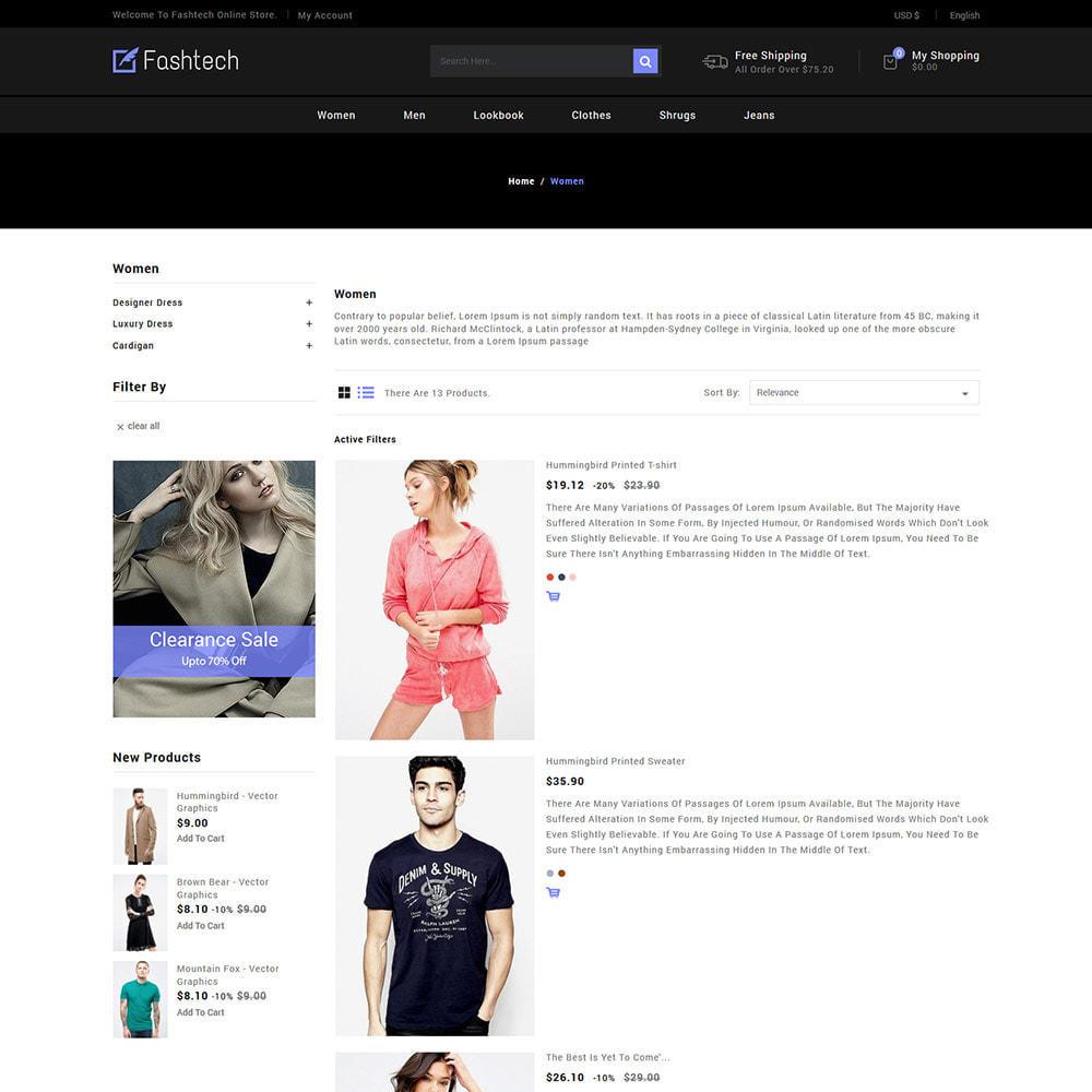 theme - Мода и обувь - Fashion Apparels - Магазин женской одежды - 5