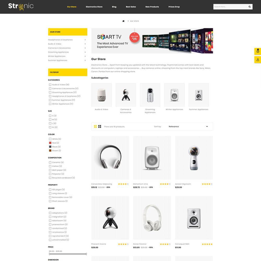 theme - Electrónica e High Tech - Stronic Tienda de electrónicos - 3