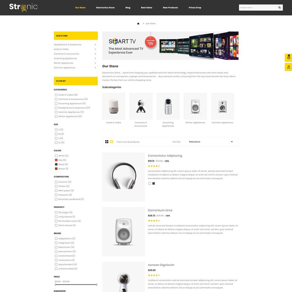 theme - Electrónica e High Tech - Stronic Tienda de electrónicos - 4