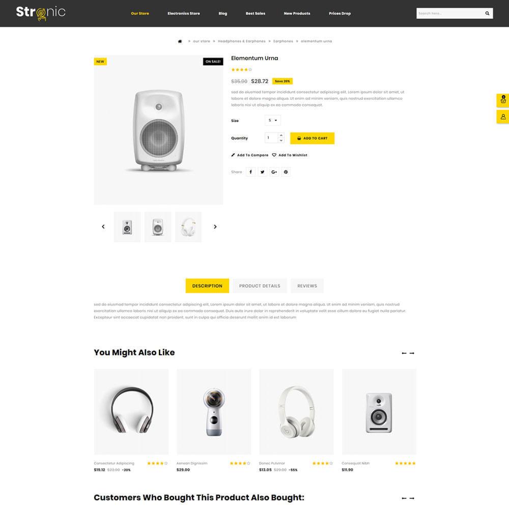 theme - Electrónica e High Tech - Stronic Tienda de electrónicos - 5