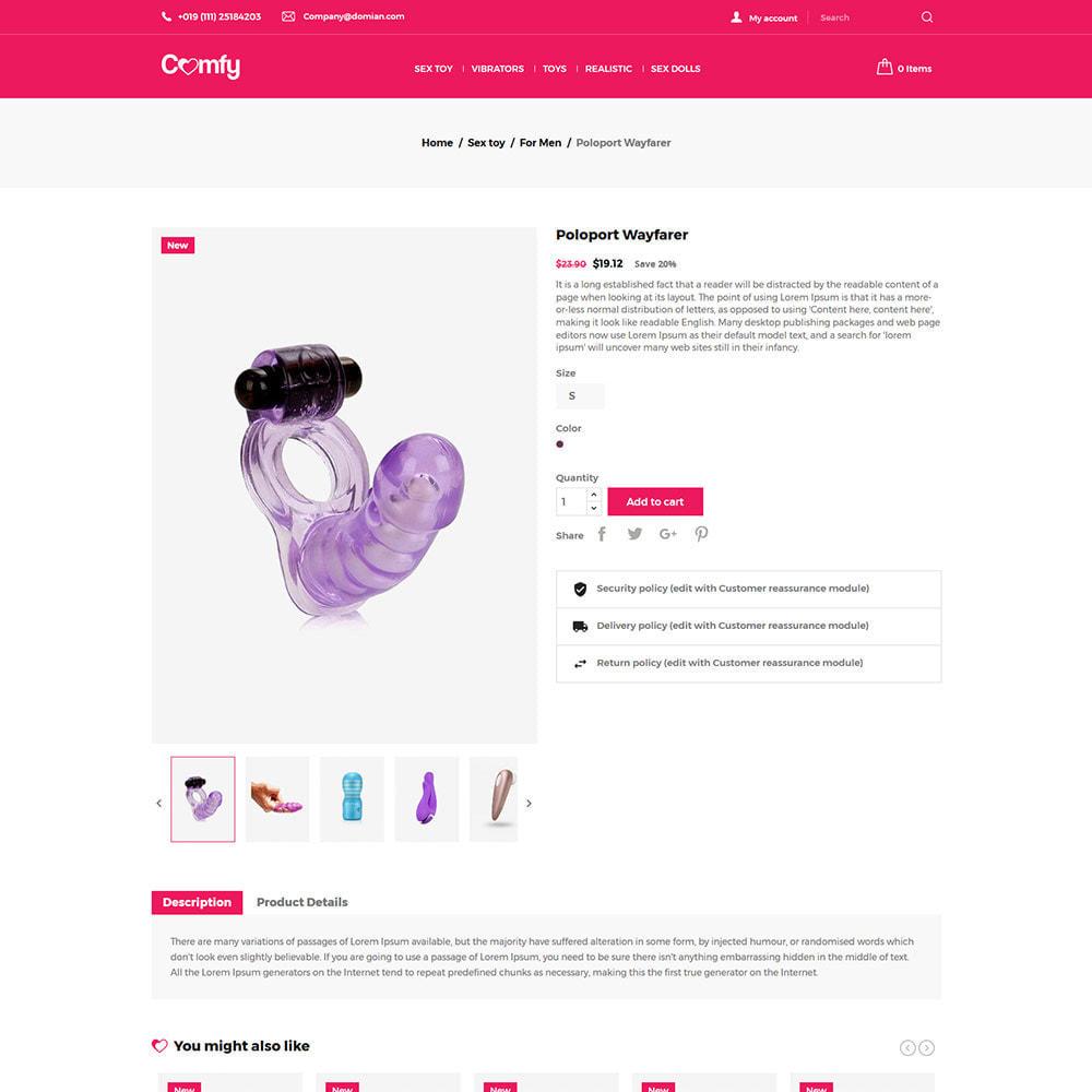 theme - Lenceria y Adultos - Comfort Adult - Sex Toys Pleasure Store - 6