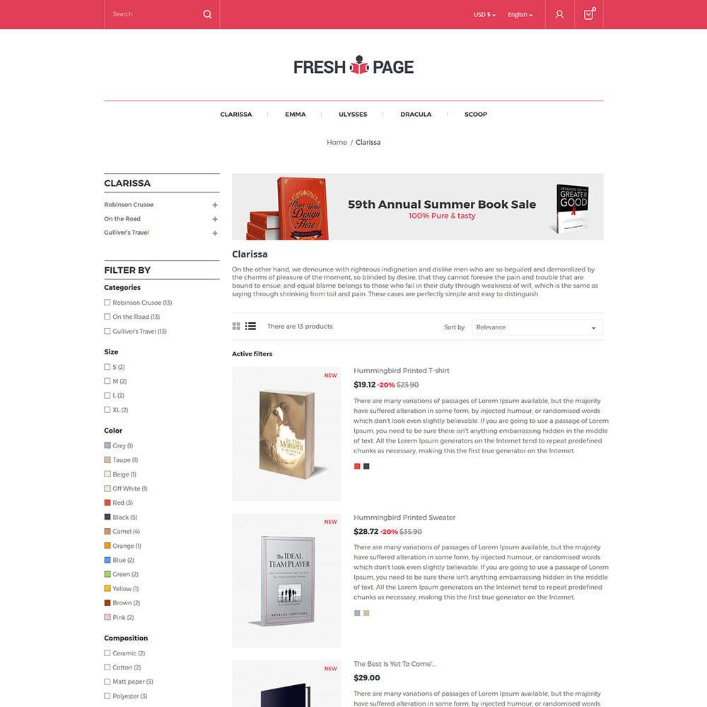 theme - Arte & Cultura - Fresh Page Book - Ebook Library Store - 7