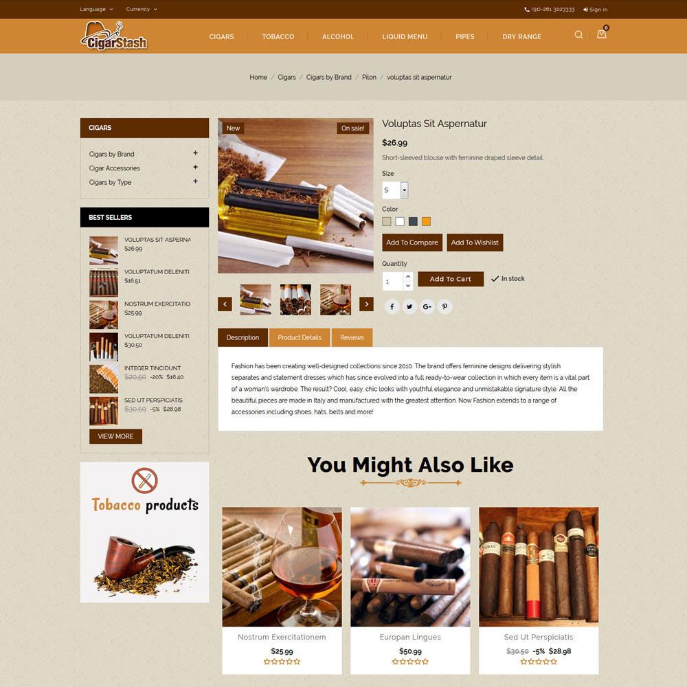 theme - Bebidas y Tabaco - Cigar Stash Store - 6