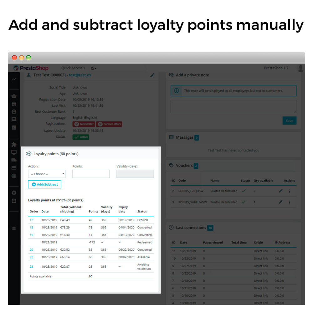 module - Referral & Loyalty Programs - Loyalty Program - Reward and loyalty points - 11