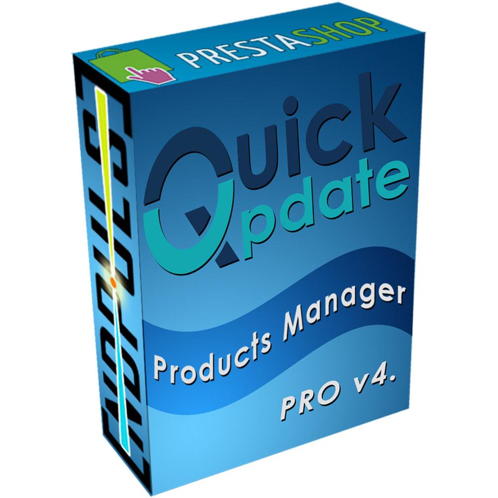 module - Edición Rápida y Masiva - QuickUpdate Products Manager PRO - 1