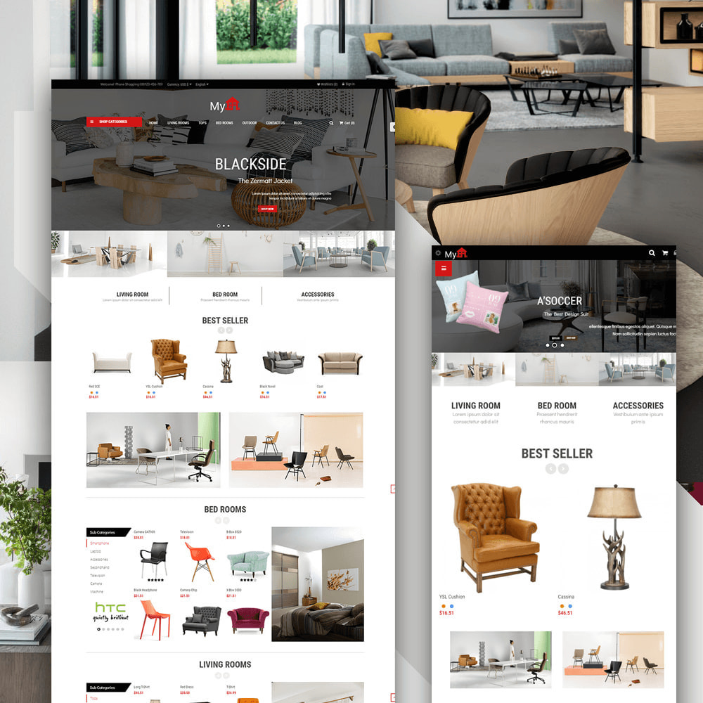 theme - Home & Garden - Myhome Furniture - 1