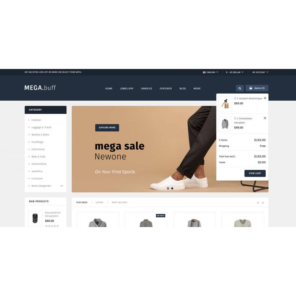 theme - Electronique & High Tech - Mega Buff - Multipurpose store - 6