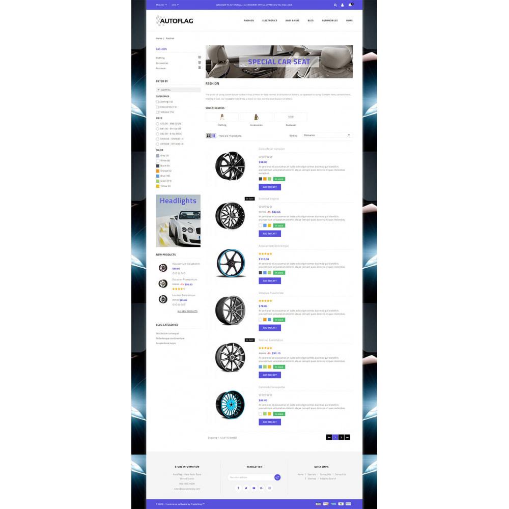 theme - Automotive & Cars - AutoFlag - AutoParts Store - 4