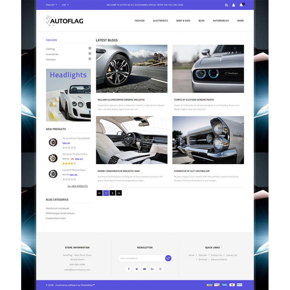 theme - Automotive & Cars - AutoFlag - AutoParts Store - 9