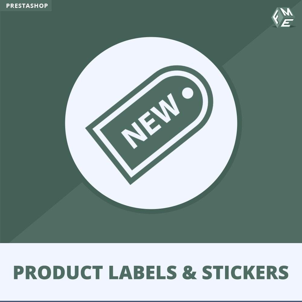 module - Etiquetas y Logos - Etiquetas y pegatinas del producto - 1