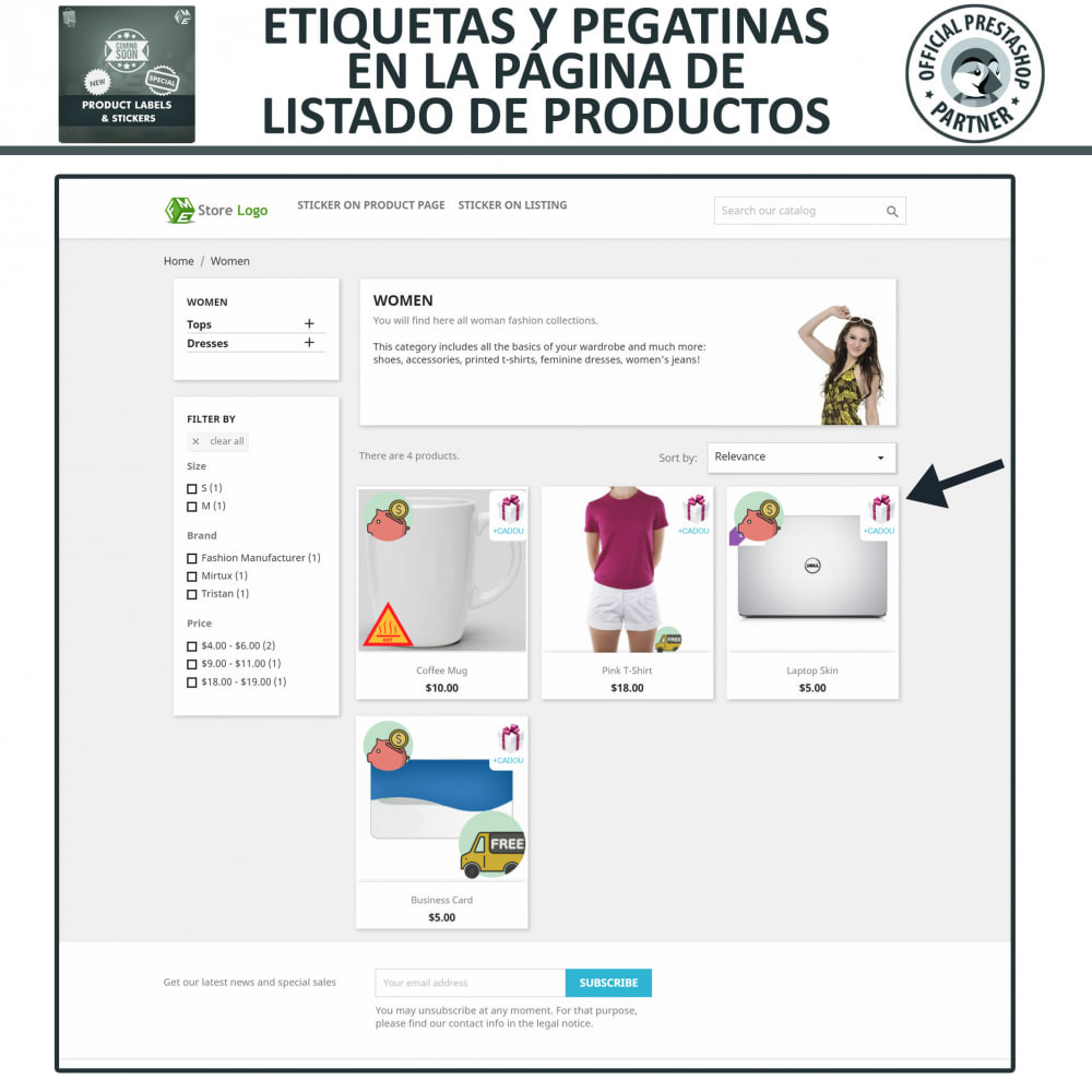 module - Etiquetas y Logos - Etiquetas y pegatinas del producto - 2