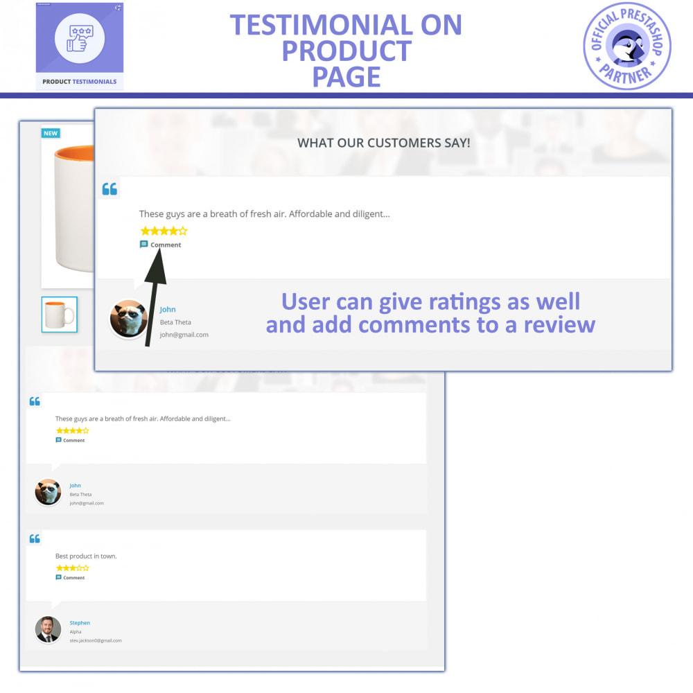 module - Customer Reviews - Customer Reviews + Store Testimonials Module - 2