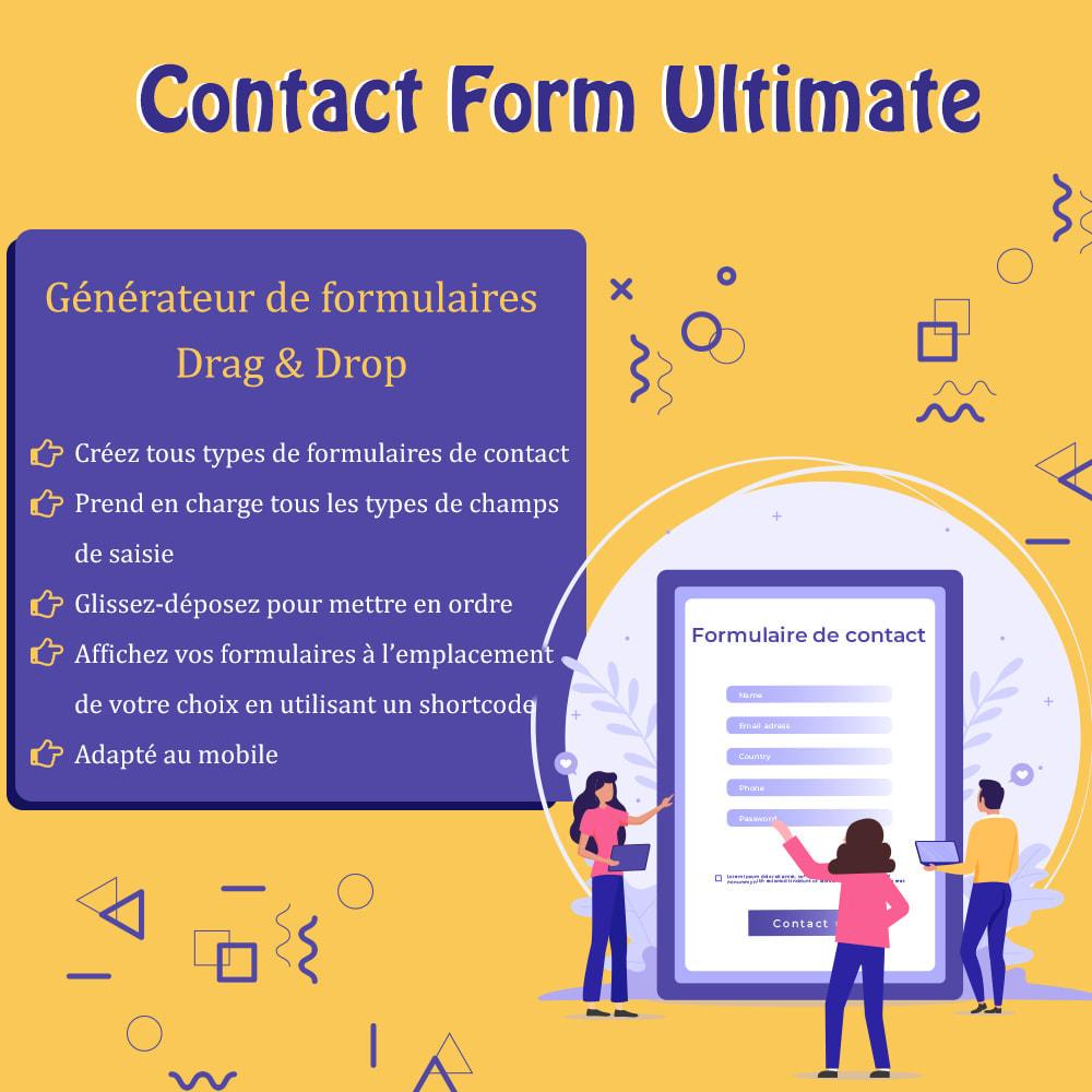 module - Formulaires de Contact & Sondages - Contact Form Ultimate – Générateur de formulaires - 1